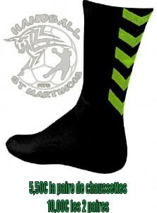 chaussettes hummel offre HBSM