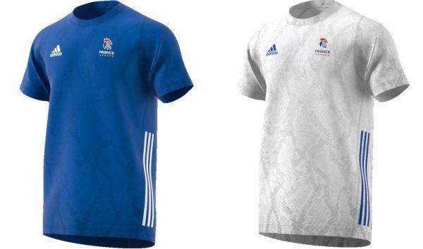 Nouveau maillot équipe de France 2019 adulte
