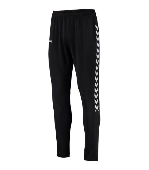 Pantalon poly authentic charge junior noir/blanc