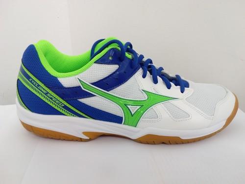 Chaussure Mizuno Homme Cyclone Speed BLANC / MARINE / VERT