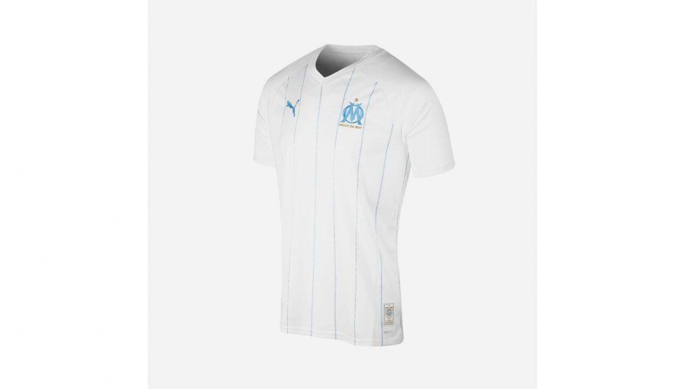 nouveau maillot Olympique de Marseille