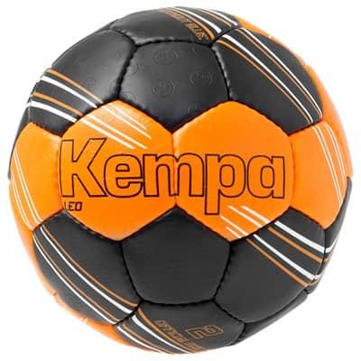 Ballon kempa leo orange fluo/noir