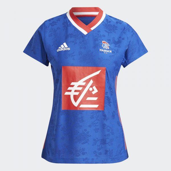 Maillot Adidas bleu Lady 2 étoiles.